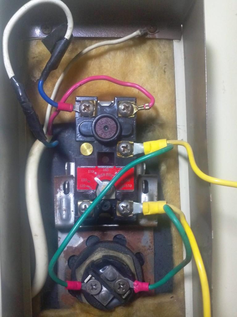 termostatos calentador electrico